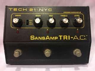 Tech 21 Tri AC Guitar Effects Pedal