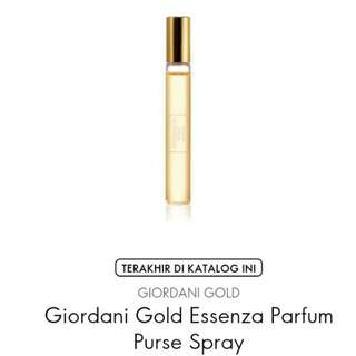 Giordani Gold Essenza Parfume Purse Spray