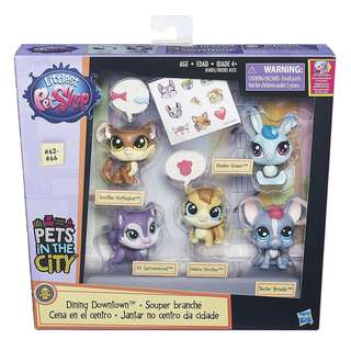 Littlest Pet Shop - Dining & Beach Outing Playset - Hasbro