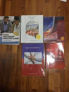 Ngee Ann Poly Year 1 Business Textbooks