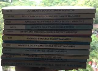 11x Archie and friends comic books
