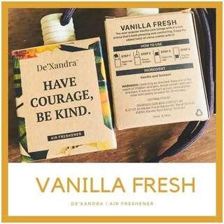 Vanilla Fresh Dexandra Air Freshner