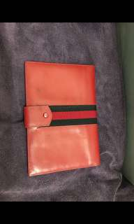 Gucci passport holder