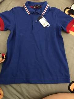 Bnwt authentic Fred perry polo tee (3-4Y)