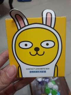 韓國隱形眼鏡水盒