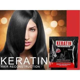 Keratin Hair Spa 1 minute