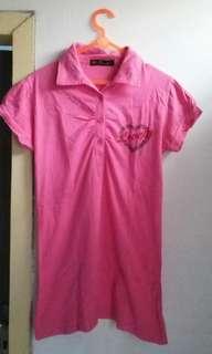 Baju kaos pink lovely
