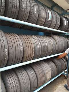 Used Tyre Offer !  See below size with price. INCLUDE INSTALLATION