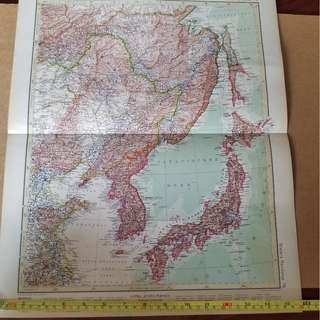 Antique Map (18*15 inches)