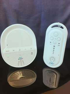Philips AVENT Basic DECT Baby Monitor