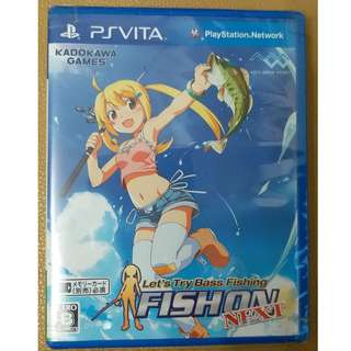 PSV Let's Try Bass Fishing FISH ON NEXT