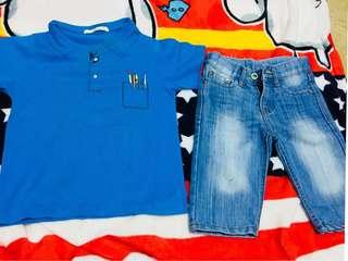 Justees shirt &pants