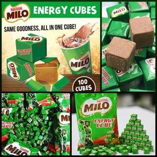 美祿Milo Energy Cube