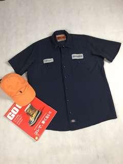 USA vintage-美國古著 Dickies work shirt
