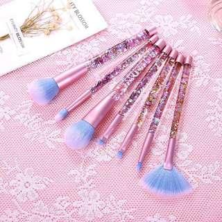 Unicorn Crystal Glitter Brushes