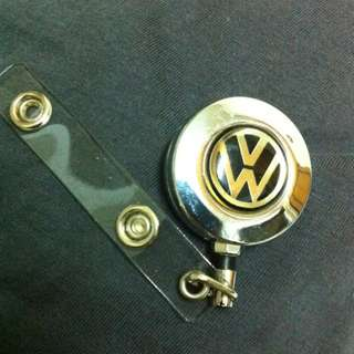 Volkswagon Name Tag Holder