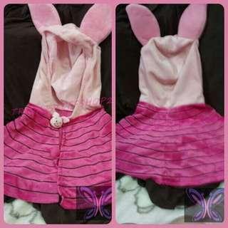 Piglet Cape-style Costume