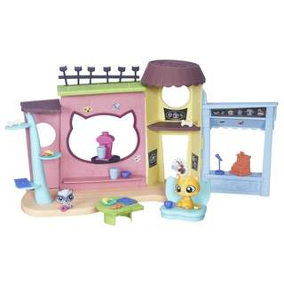 Littlest Pet Shop Pawristas Cafe' Playset_NEW 100% Original Hasbro