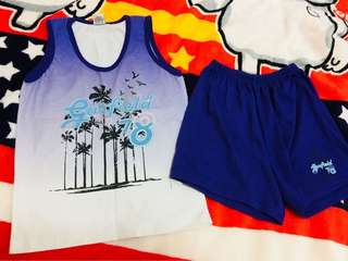Set of garfield sando & short