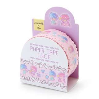 Japan Sanrio Little Twin Stars Masking Tape (Race Style)