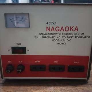 NAGAOKA Heavy Duty Full Automatic Voltage Regulator