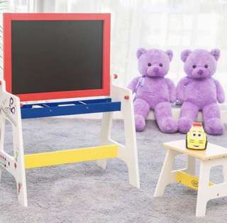 2 in 1 Table & Board with Bench