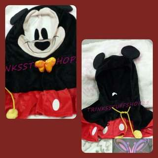Mickey Mouse Cape-Style Hoodie
