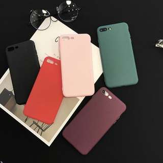 150 FOR TWO Pure Color Frosted Iphone Case