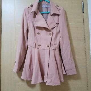 Korean Jacket 風褸外套櫻花粉