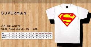 Family Tee /Superman(white,blue,black)