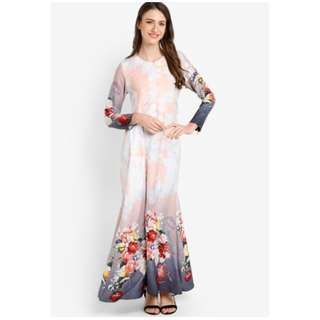 Dress Dyana Rose ( Peach )