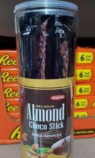 SUNYOUNG Almond ChocoSticks 180g