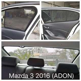 Mazda 3 Sedan Magnetic Sunshade