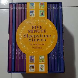 Five Minute Sleepytime Stories: 18 Picture Book Collection Hardcover