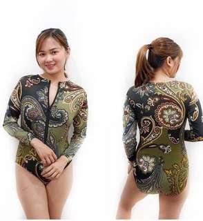 One piece swimsuit rashguard (discounted)