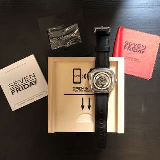 Authentic Sevenfriday P1B/01 100% Original Watch