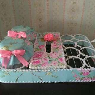 Toples set handmade untuk lebaran ( toples motiv sabi)