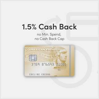 American Express True Cash Back Card