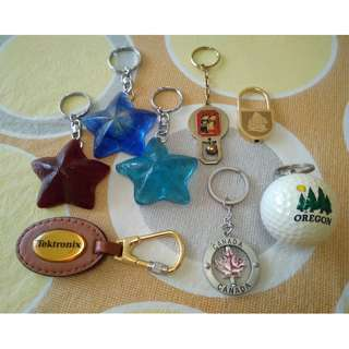 Keychains Different Countries