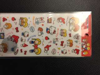 Sanrio Characters Stickers - made in Japan