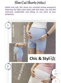 Maternity shorts pregnancy shorts maternity wear