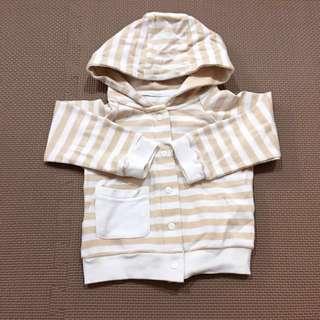 BABYMIO米爾寶寶 有機棉長袖連帽外套