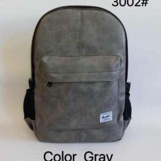 Herschel Leather Backpack