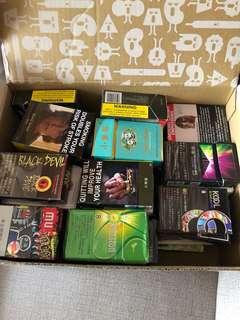 各式菸盒(不是賣菸,裡面沒菸)