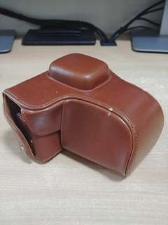 Faux Leather case for E-PL3 or E-PM1