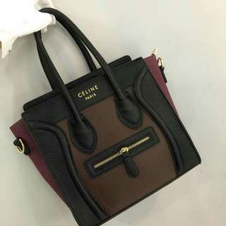 Celine Nano Bag Brown