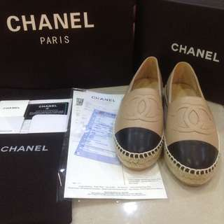 SALEEEE !!! AUTHENTIC CHANEL ESPADRILLES