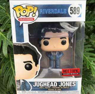 🐍Hot Topic Pre-Release Exclusive Jughead Jones-Riverdale Funko Pop! Netflix