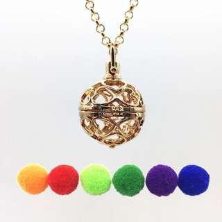 Love Heart Diffuser Necklace
