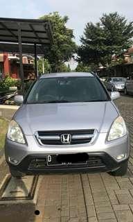 Honda CRV 2003 AT silver